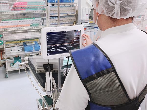 長津田厚生総合病院 臨床工学科 心臓カテーテル検査業務