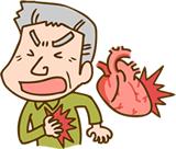 狭心症や心筋梗塞