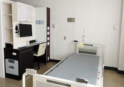 病室モデルルーム 個室仕様