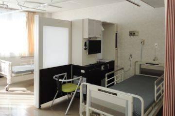 病室モデルルーム 多床病室仕様