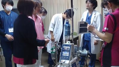 経皮的心肺補助システム(PCPS)の勉強会
