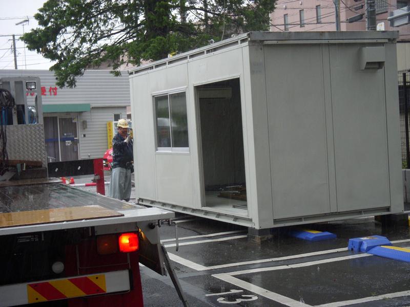 新病院工事現場用ユニットハウス