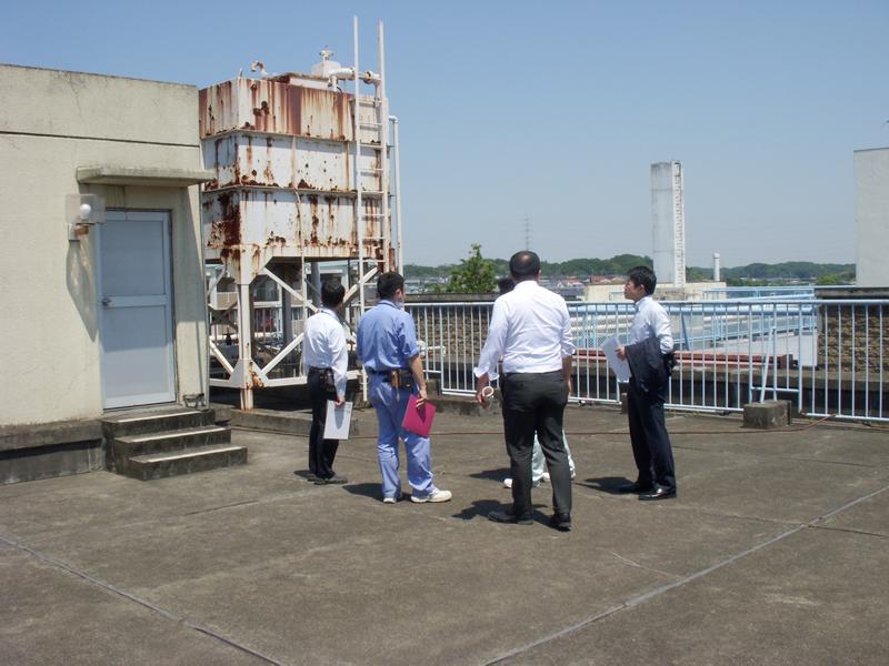 5月22日(火)新病院建築に伴い既存建物等の事前調査を行いました。