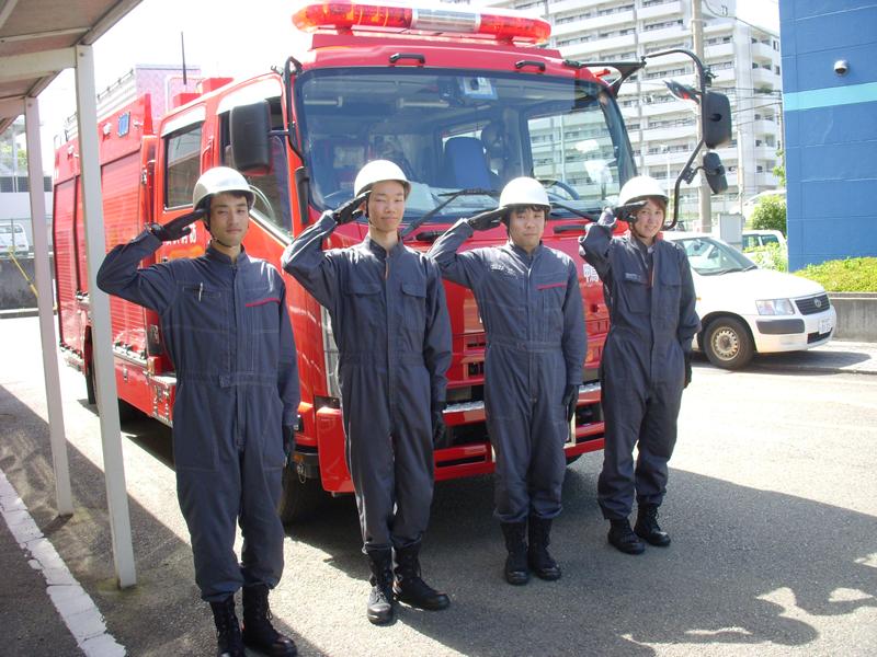 男女混合自衛消防隊を結成