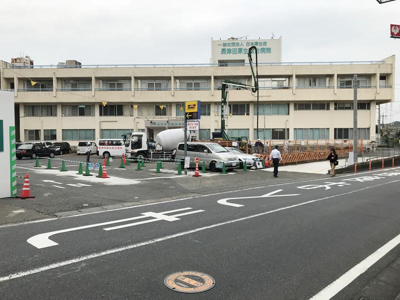 長津田厚生総合病院 新病院建築工事 2018年10月15日