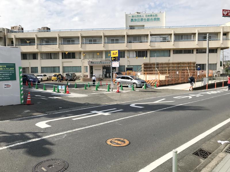長津田厚生総合病院 新病院建築工事 2018年10月18日