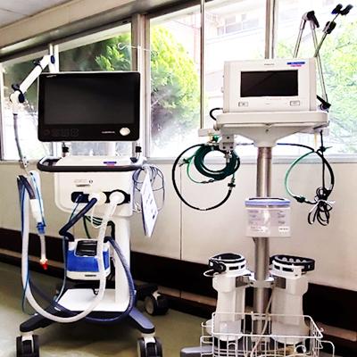 最新型人工呼吸器